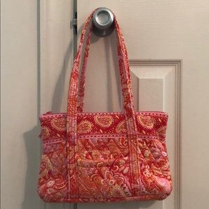 Vera Bradley Sherbet Colored Handbag